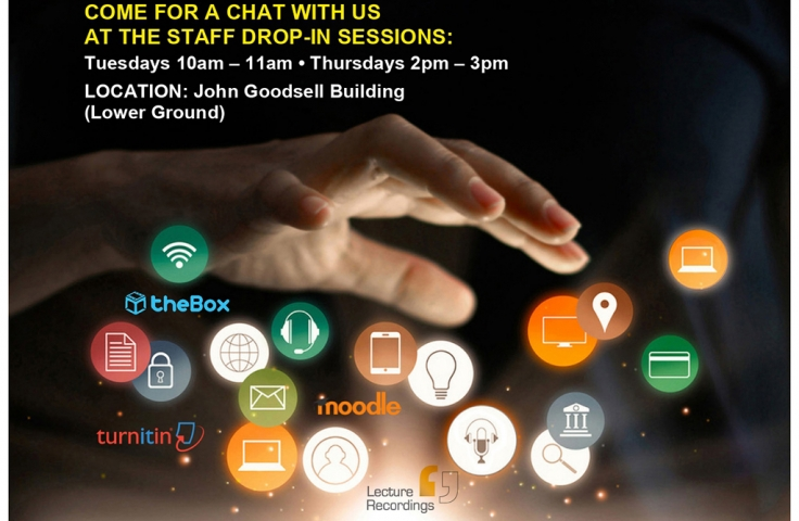 ETS Drop-In Sessions at UNSW Poster